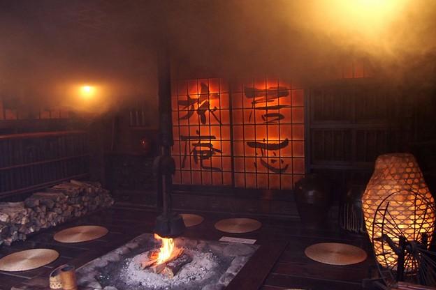 写真: 黒川温泉にて(2)