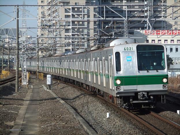 東京メトロ千代田線6000系 6121F
