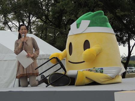 10/12(日) 稲沢サンドフェスタでご当地キャラたちが1時だよ!全員集合!!