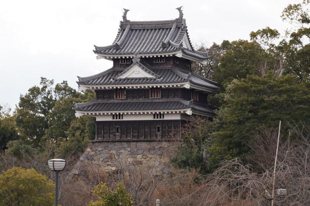 西尾城 丑寅櫓 4