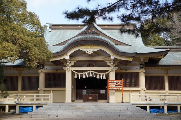 西尾 伊文神社