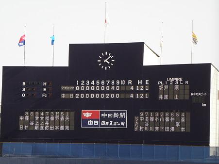 105 この日の試合結果