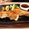 写真: やわらか豚ばらステーキ