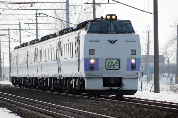 キハ183-220~編成 オホーツク