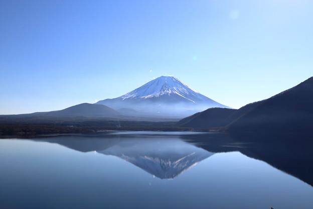 Photos: 本栖湖 逆さ富士 (千円札の裏の絵)