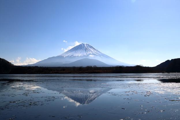 Photos: 精進湖 逆さ富士