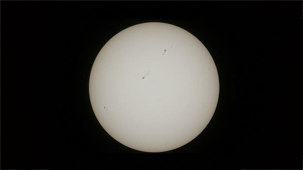 金環日食前日の太陽@GH2(1690mm相当)
