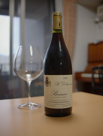 Beaune 1989 (Domaine B. Delagrange)