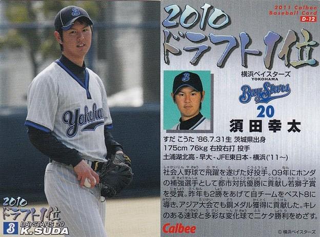 No.D-12須田幸太(横浜ベイスターズ)