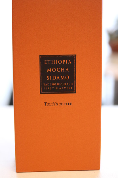 Tully's ETHIOPIA MOCHA SIDAMO TADE GG HIGHLAND FIRST HARVEST 外箱