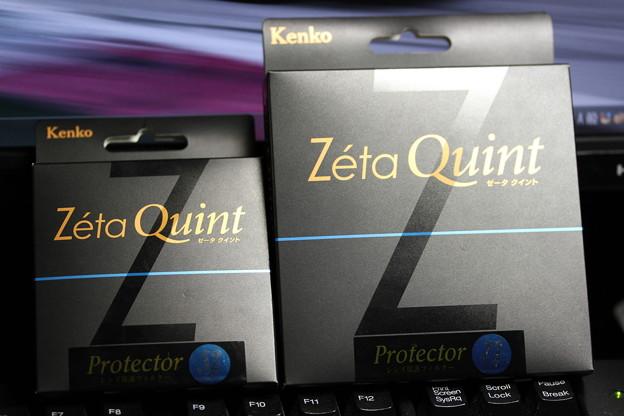 Kenko Zeta Quint Protector 52mm & 72mm(ケンコー ゼータ クイント プロテクター 52mm & 72mm)箱