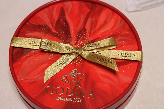 GODIVA Collection Etoile de Noel 箱