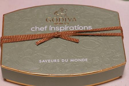 GODIVA chef inspirations(ゴディバ シェフインスピラション)箱