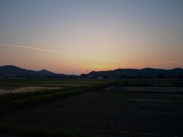 Photos: 田園の夕暮れ