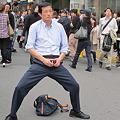 写真: 1渋谷センター街 開脚おじさん01
