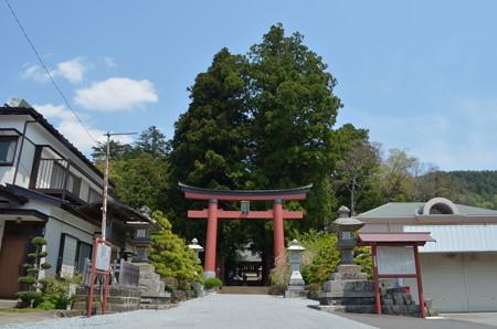 河口浅間神社・鳥居