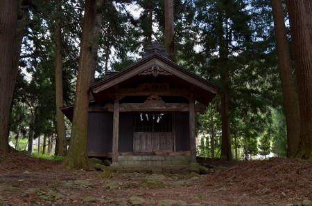 河口浅間神社・山の神社