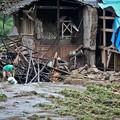写真: 暴風雨で家が村が壊れちゃったby浙江省の農村 (5)