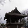 【富士浅間神社(神楽殿も夜が明ければ)】