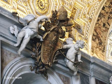 サンピエトロ大聖堂内部2014年10月31日_PA310148