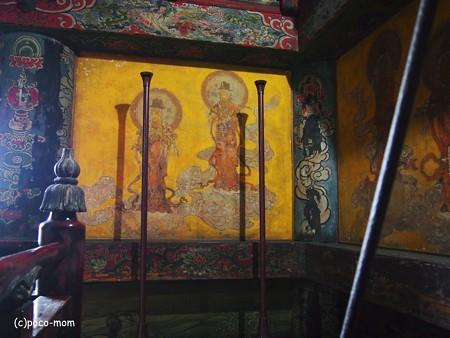 法観寺 五重塔 八坂の塔の内部2014年05月04日_P5040844