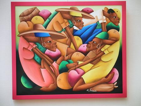 2010年08月01日ハイチ・アート展