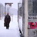Photos: 雪国旅客