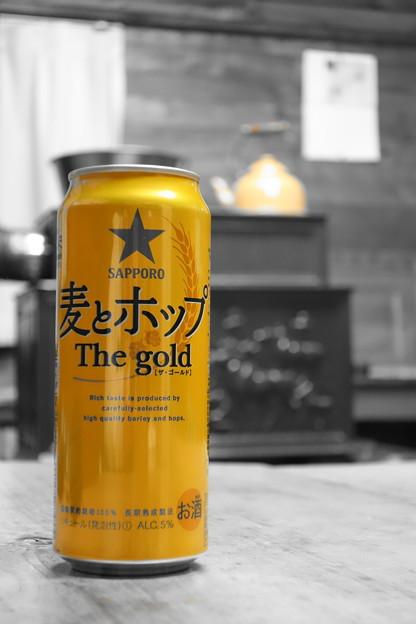 Photos: プレミアムな 麦とホップ The gold