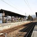 Photos: 長野電鉄 屋代線 松代駅 ホーム全景