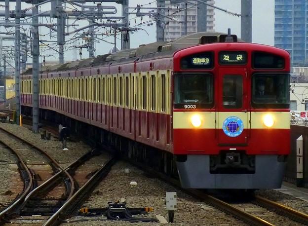 9000系9103F〈RED LUCKY TRAIN〉(4654レ)通勤準急SI01池袋