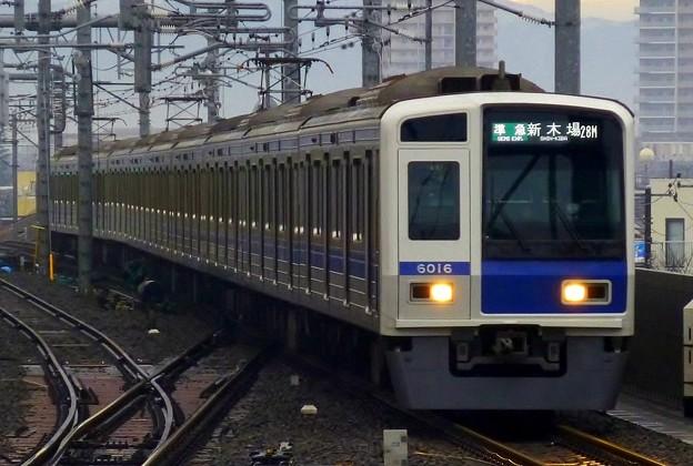 Photos: 6000系6116F(4572レ)準急Y24新木場