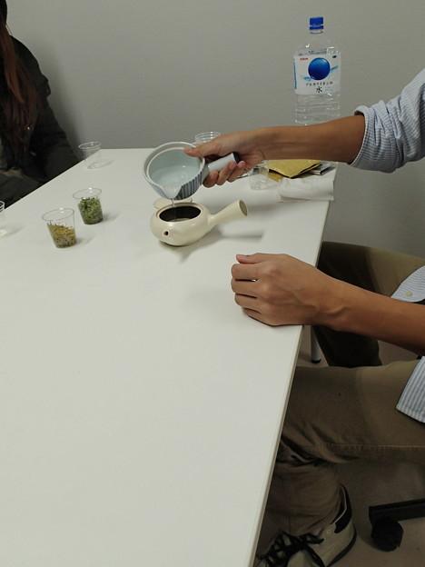 白葉茶 試飲会