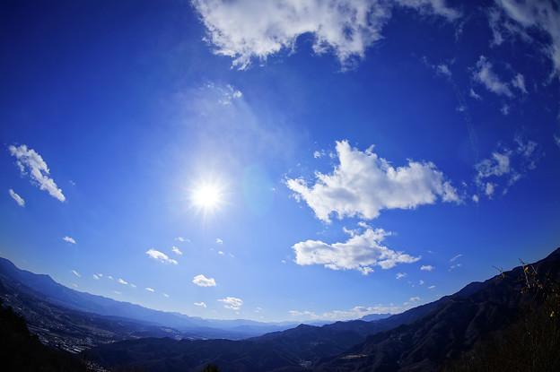 宝登山からの眺め