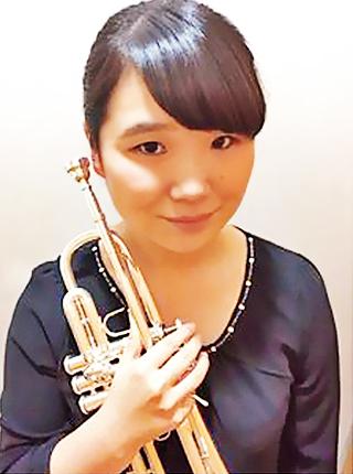 蓬田奈津美 よもぎだなつみ トランペット奏者 トランぺッター Natsumi Yomogida