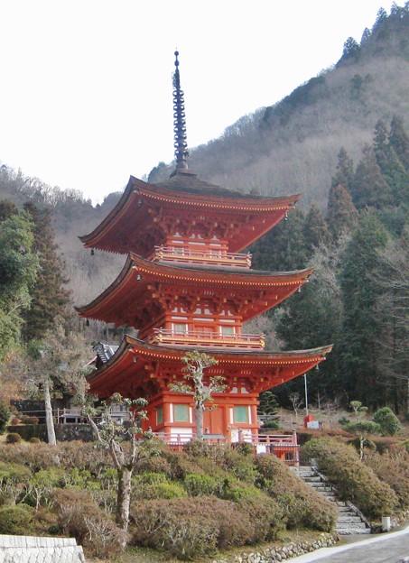 長福寺三重の塔