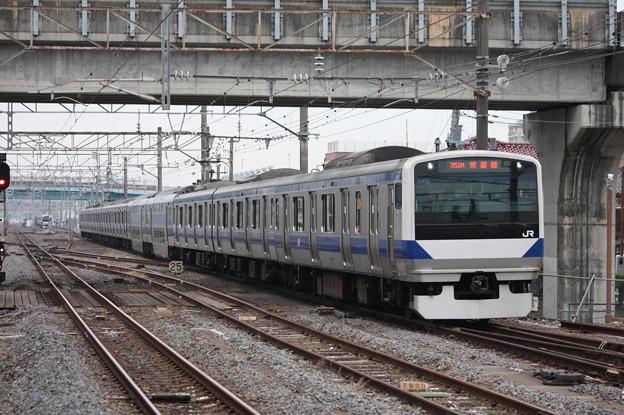 E531系K409編成 352M 普通上野行
