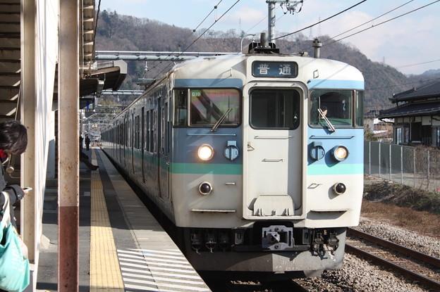 中央本線 115系1000番台C10編成