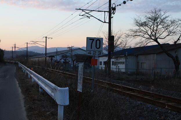 制限70標識