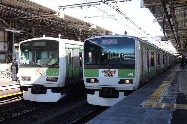 山手線 E231系500番台 「妖怪ウオッチ」ラッピング2編成