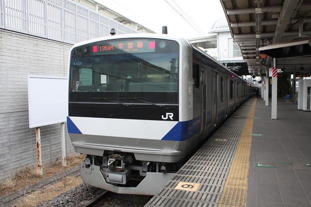 E531系K406編成 1354M 普通上野行