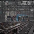 Photos: 3種の新性能電車が並ぶ