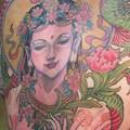 Photos: 神 God tattoo