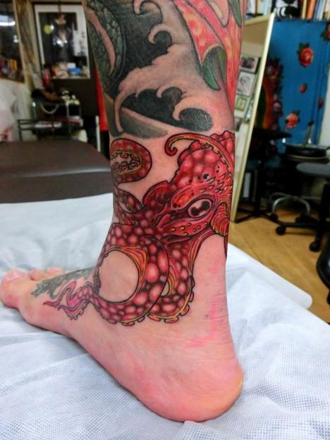 蛸Octopusタコtattoo