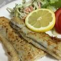 写真: 太刀魚のムニエル