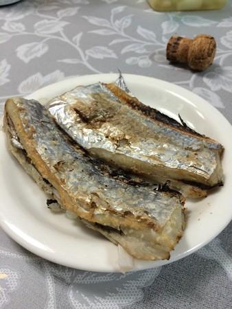 太刀魚の塩焼き