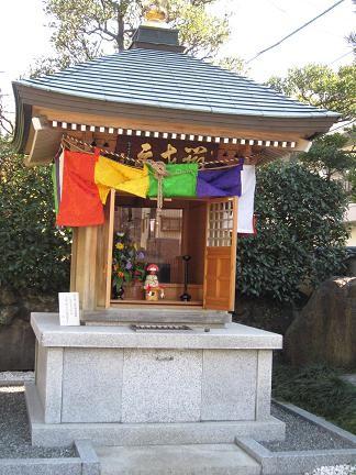 東覚寺の弁財天のお堂