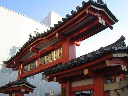 神楽坂の善国寺