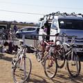 競技用の自転車