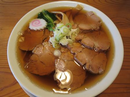 にぼし醤油らーめん 神楽屋 煮干チャーシューメン¥950