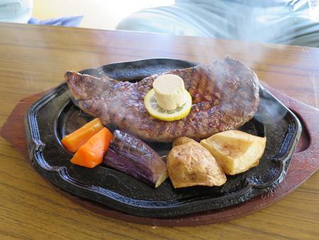デンバー おすすめステーキセット ジャンボ(250g)¥2000